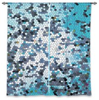 DiaNoche Lined Window Curtains by Iris Lehnhardt - Mosaic ...