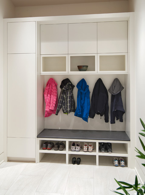 Mudroom Bench Contemporary Entry Vancouver By Old