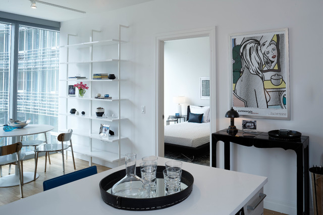 Mercedes House Midtown Modern Interior Design 1 Bedroom Apartment
