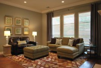 Transitional Formal Living Room - Traditional - Living ...