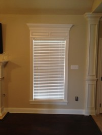 Need ideas for window treatment that won't hide decorative ...
