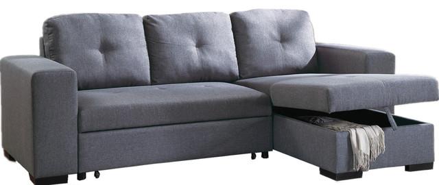 aspen convertible sectional storage sofa bed mattress topper canada - [audidatlevante.com]