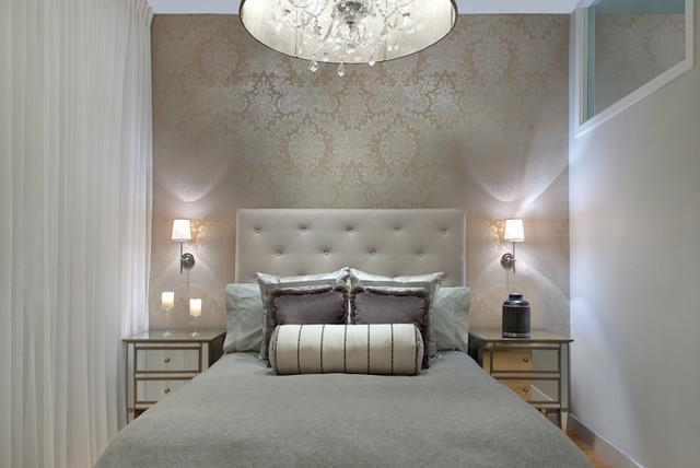 South End Glamorous Bedroom Renovation & Design