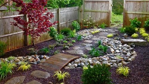 making asian inspired garden