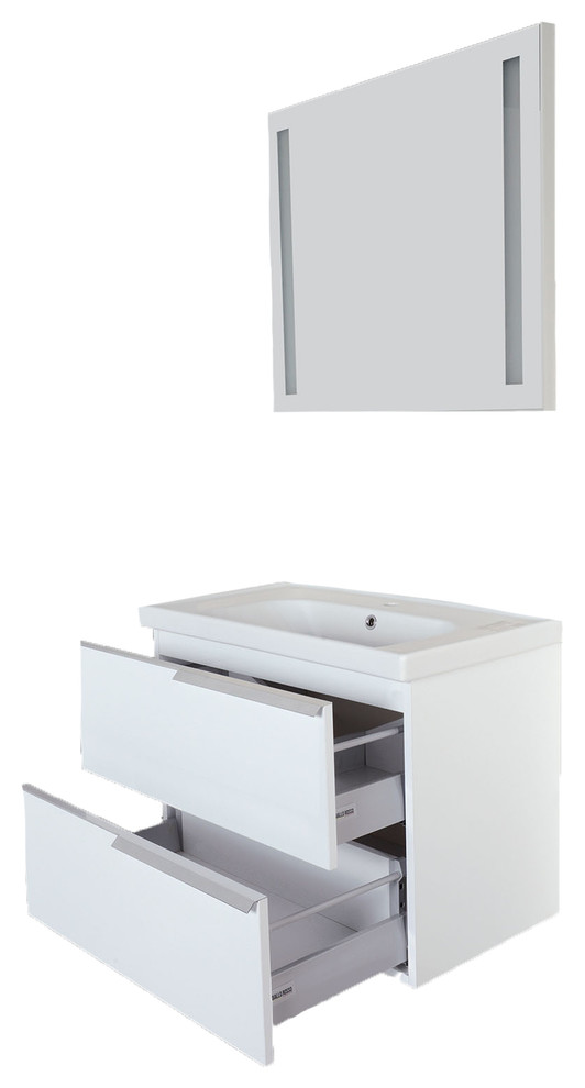 argento contemporary glossy white wall mount bathroom vanity sink combo 32