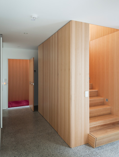 Wellington accessible home - stairs modern-staircase