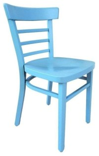 - Pre-owned Vintage Cafe Chair in Powder Blue - View in ...