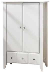 Bedroom Living Room Storage Cabinet Wardrobe Armoire in
