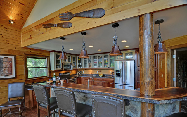 Country Kitchens  Rustic  Kitchen  Atlanta  By