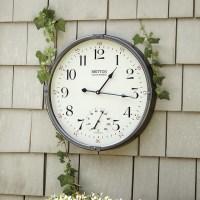 Ballard Designs Britton Indoor/Outdoor Clock ...