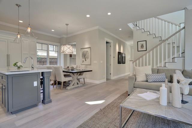 Live Oak Transitional Living Room San Francisco By