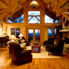 Furniture Placement Living Room Fireplace Tv Purple Accent Chairs Mountain Timber Frame - Traditional Other ...