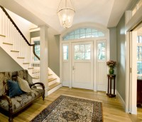 Woodland Residence Entry Hall - Traditional - Entry ...