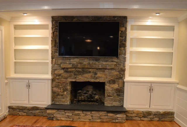 Before and After Kitchen and Den Remodel  WJM  Traditional  Family Room  Other  by