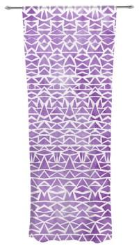 "Pom Graphic Design ""Tribal Mosaic"" Decorative Sheer ..."