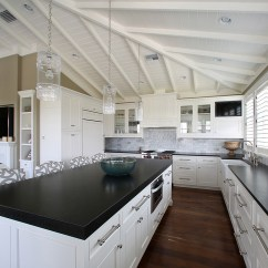 Kitchen Designers Long Island White Distressed Table West Indies Residence - Tropical Tampa By E ...