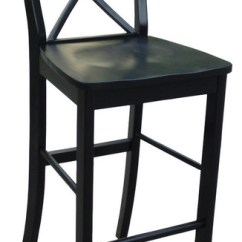 Counter Height Chairs With Back Bean Bag Chair Covers Only X Bar Stool Traditional Stools And By International Concepts
