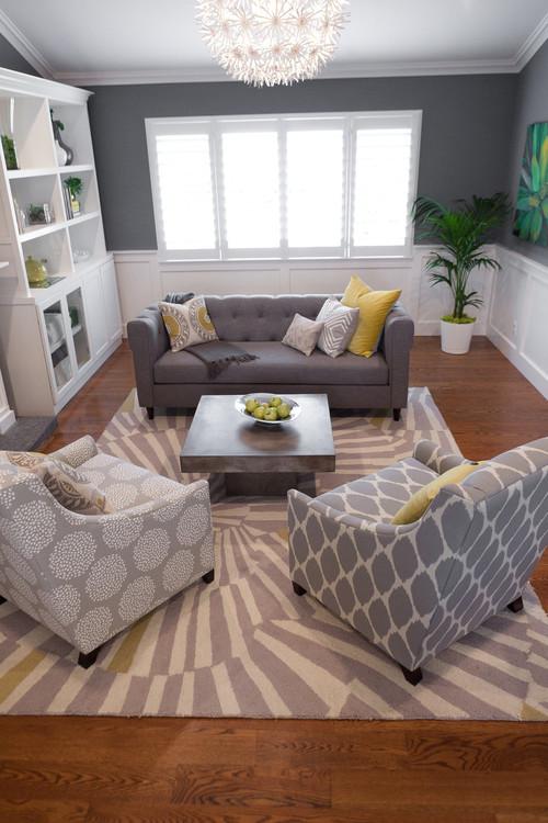 Modern Living Room Furniture Decoration Sweet Doll House Beautiful Er Interior