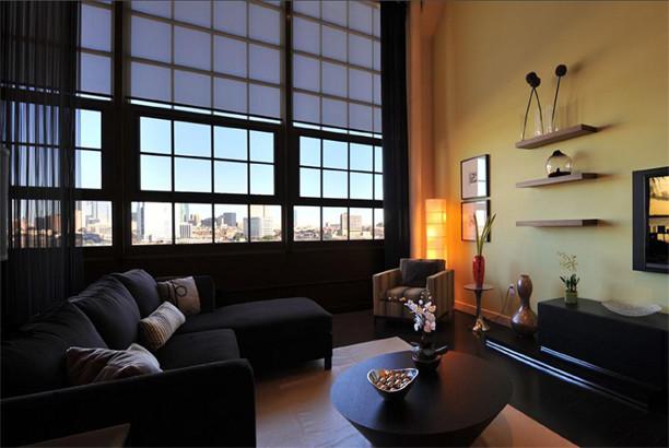 log cabin living room decorating ideas leather sleeper sofa set urban
