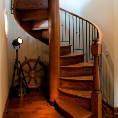 Houzz Living Rooms With Sectionals Home Theater Room Nautical Spiral - Eclectic Staircase Seattle By ...