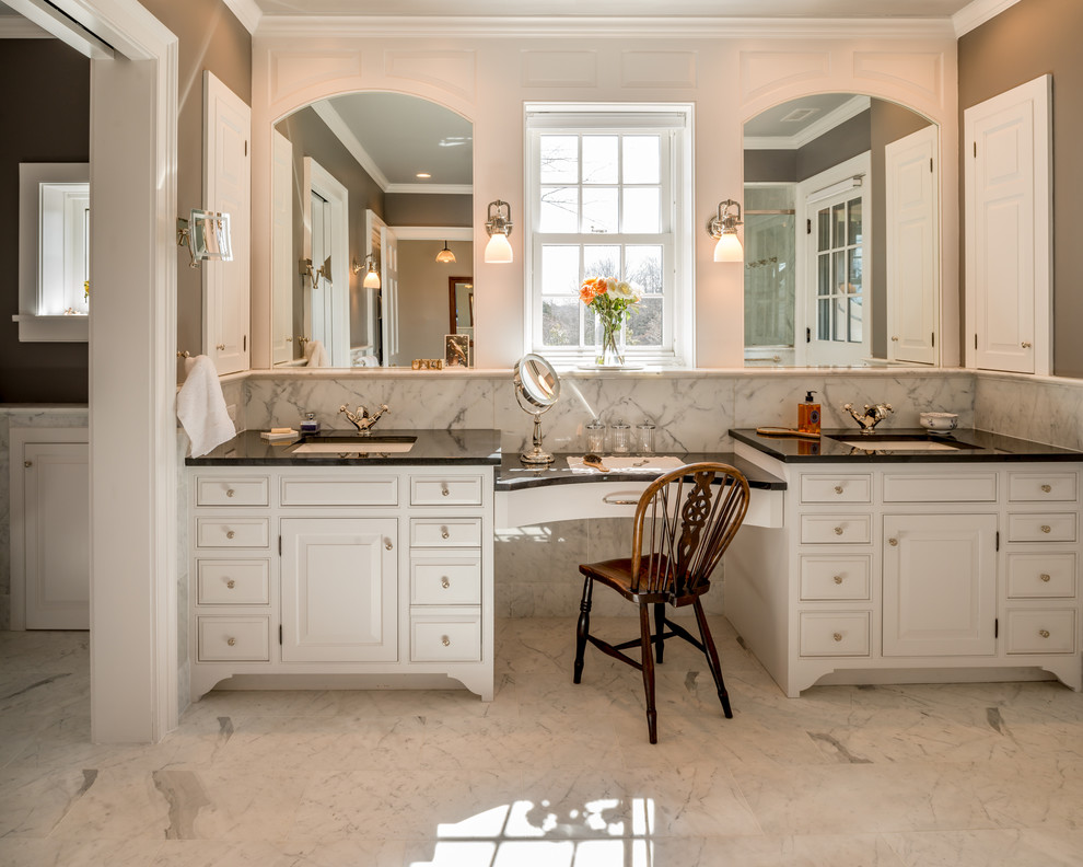 Addition And Renovation Bucks County Pa Victorian Bathroom Philadelphia By Period Architecture Ltd