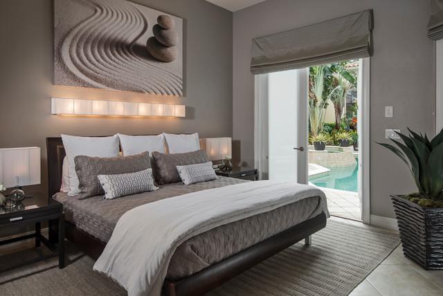 Pelican Marsh Residence  Contemporary  Bedroom  Miami