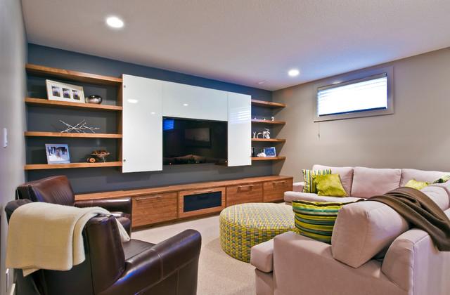 SILVERTIP RIDGE contemporary-family-room