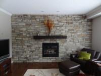 Eldorado Thin Stone Fireplace Feature Wall