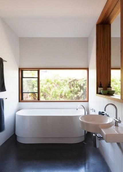 contemporary beach house bathroom 13th Beach House main bathroom - Contemporary - Bathroom - Melbourne - by Auhaus Architecture