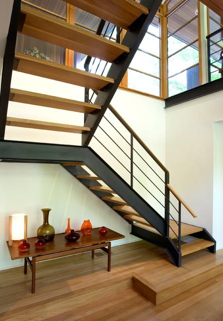 Floating Staircase  Modern  Staircase  philadelphia