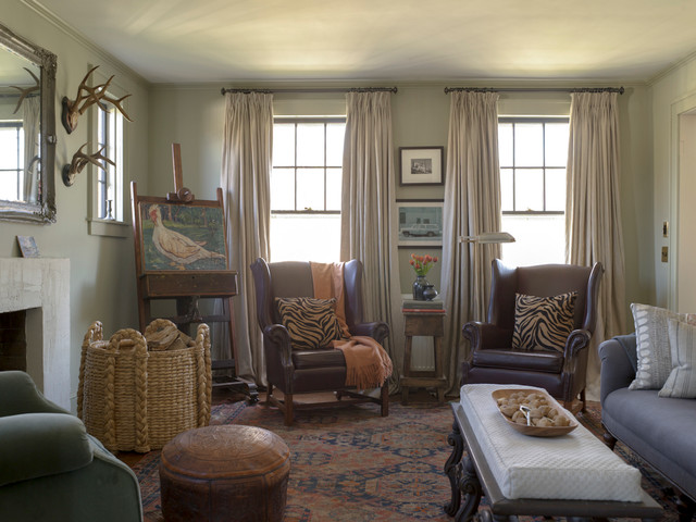 wicker wingback chairs kids cheap table and 1929 farmhouse renovation - living room new york by rafe churchill