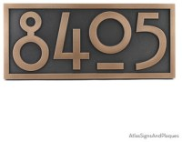 "Stickley Numbers ONLY! 16"" x 7"" in Bronze Patina - Arts ..."