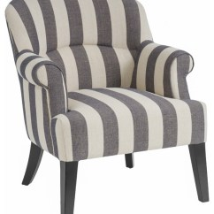 Accent Chair Gray Best Gaming Under 100 Drew Club Beige Stripe Farmhouse Armchairs And