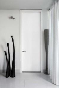 Tall white modern bedroom door - Modern - Entry - Miami ...