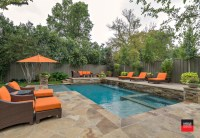 Private Residence Backyard Retreat - Traditional - Pool ...