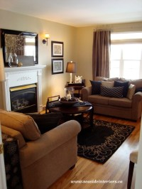 Black & Beige Living Room