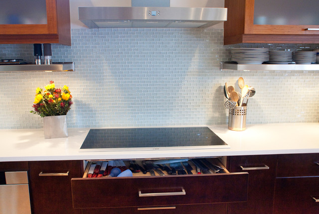 induction cooktop  Contemporary  Kitchen  Dallas  by