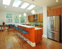 Kitchen Bump Out Addition - Contemporary - Kitchen - DC ...