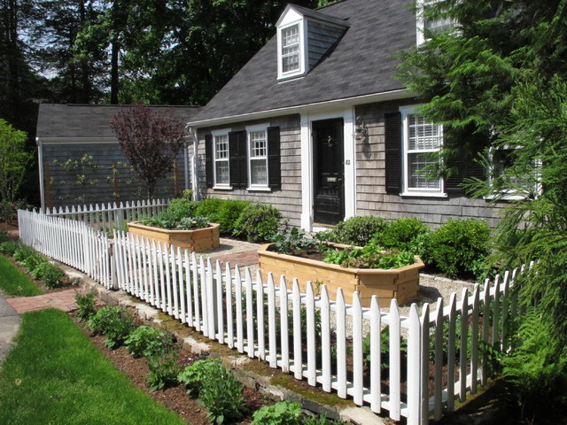 Wellesley Cottage Garden Traditional Landscape Boston By