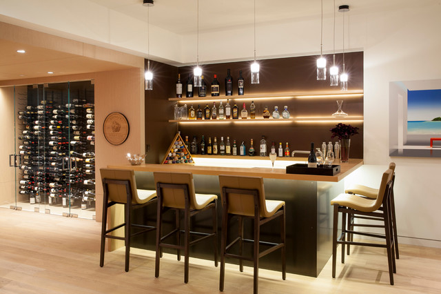 Napoli Residence  Modern  Hausbar  Los Angeles  von