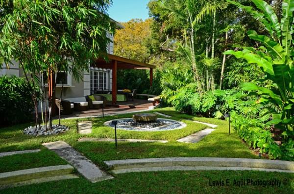 zesty zen - tropical landscape