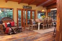 Adirondack Style Lodge - Rustic - Dining Room - Los ...