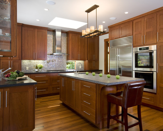 stainless steel kitchen cabinets manufacturers moen faucet schematic modern - craftsman san francisco by ...