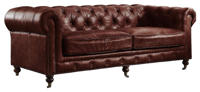 aberdeen top grain leather