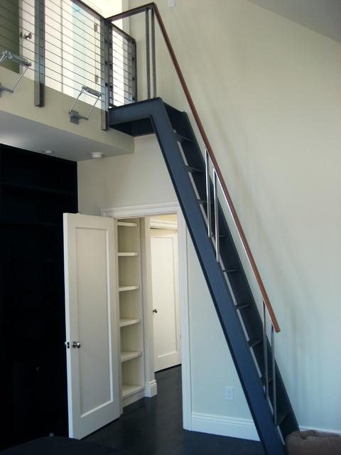 Gough Street Ladder  Modern  Staircase  san francisco