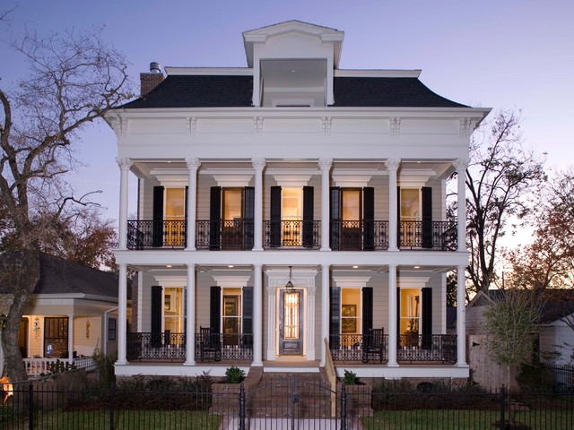 Elevations Traditional Exterior Houston By Creole Design