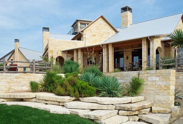 texas vernacular ranch - rustic