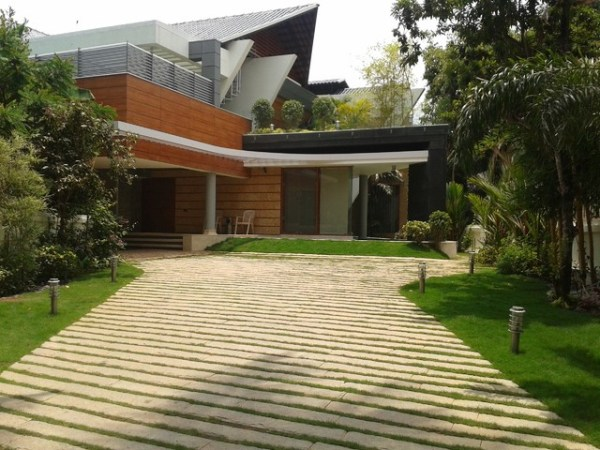 residential landscape - contemporary
