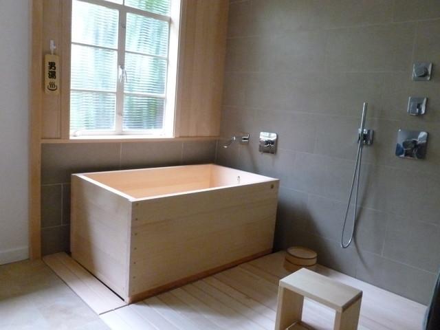 Hinoki bath tub  Contemporary  Bathroom  San Francisco
