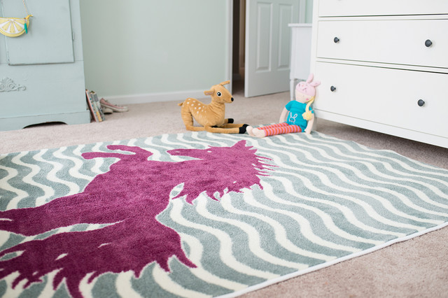 Majestic Unicorn Area Rug By Mohawk Home Transitional